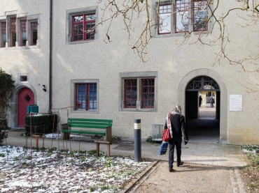 One of the approaches into the Allerheiligen Museum court yard